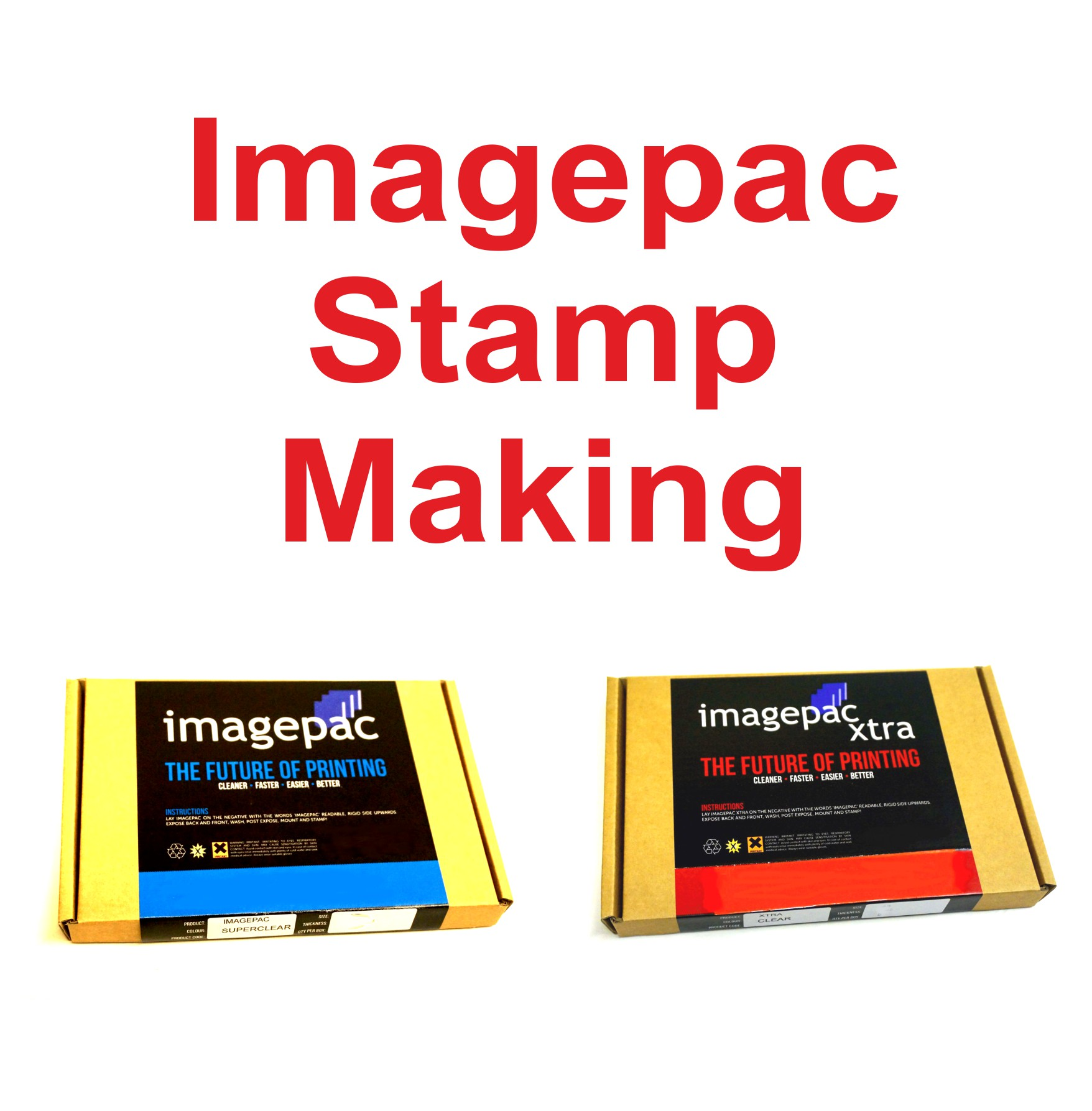 Imagepac Stamp Making