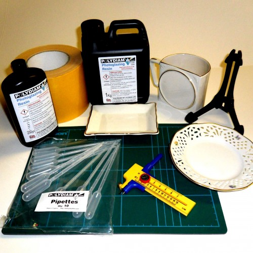Photoglazing Supplies