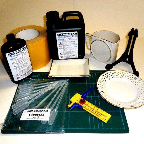 Photoglazing Supplies